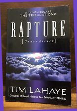 Will You Escape the TRIBULATION?  RAPTURE under Attack by Tim LaHaye 1998 PB EX