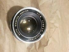 55mm Auto Mamiya Sekor f1.8 SCREW MT. Lens