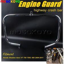 Chrome Motorcycle Engine Guard Crash Bar Fit Honda Shadow Aero VT 750 400 04-11