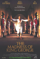 MADNESS OF KING GEORGE MOVIE POSTER 27x40 DS HELEN MIRR