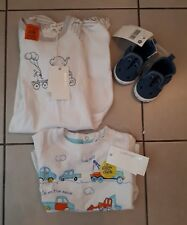 PUMPKIN PATCH GLOW IN THE DARK T-SHIRT, CROCODILE SLIP ON SHOES,BABY ROMPER