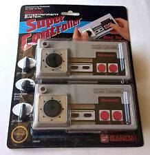 Super Controller Nintendo Nes / neuf blister rigide officiel 1986 / new sealed