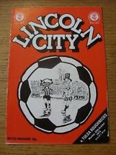 29/10/1979 Lincoln City v Tulsa Roughnecks [Friendly] . No obvious faults, unle