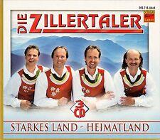 DIE ZILLERTALER : STARKES LAND - HEIMATLAND / 3 CD-SET - NEU