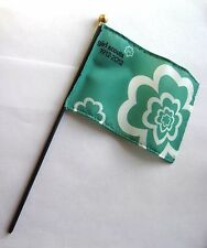 "Girl Scout 100 ANNIVERSARY STICK FLAG Parade Desk Decoration Cake Topper 4"" x 6"""