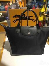 Authentic Longchamp Le Pliage Medium Series Black