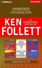 KEN FOLLETT unabridged CD Coll - Lie Down With Lions, Eyes of the Needle, Triple