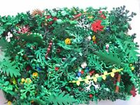 LEGO Bulk lot FOLIAGE Trees Bushes Plants 1/8 lb (2 oz) avg 50 pcs RANDOM Lot