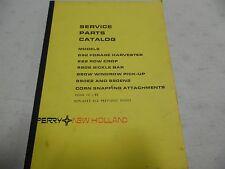 New Holland 892 822 880S 880W 890E2 Parts Manual