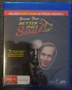 Better Call Saul Season 4 (3 Disc Set) Brand New Sealed