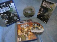 Playstation 2 GHOST RECON + GHOST RECON 2 per PS2  Boxed Pal
