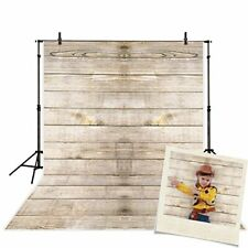 Vinyl Wood Photography Background Backdrops Wooden Board Child Baby Shower Phot