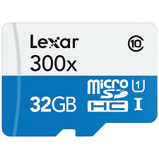 32gb Lexar microsd for Note 3 Note4 Galaxy S5 S4 Class 10 Flash Memory Card
