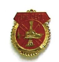 SECURITY & RESCUE HAT LAPEL PIN -  FIRE DEPARTMENT PIN   -  NEW