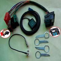 Fit For Audi A2 A3 A4 A6 RNS-E Sat Nav PLUG PLAY Installation Adapter Retrofit