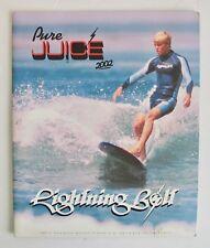 Vintage 2002 Lightning Bolt Surf Apparel Catalog Surfer Surfing Surfboard Skate