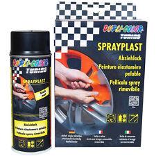 6x Dupli Color Sprayplast 400ml Abziehlack Carbon Sprühfolie ZWD