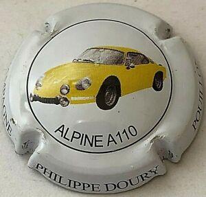 Capsule de Champagne DOURY Philippe (21. Alpine A 110 jaune)