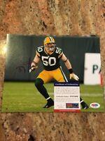 AJ Hawk Autographed 8x10 NFL Photo W/Coa Green Bay Packers