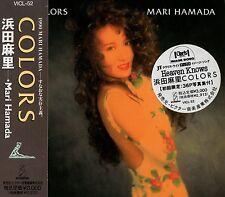 MARI HAMADA Colors FIRST JAPAN CD OBI West-Coast AOR