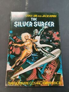 THE SILVER SURFER THE ULTIMATE COSMIC EXPERIENCE VF STAN LEE KIRBY 1ST PRINT