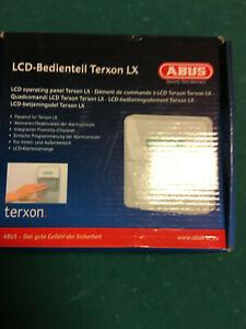 ABUS AZ4210 LCD-Bedienteil für Terxon LX Alarmanlage Chipleser, neuwertig