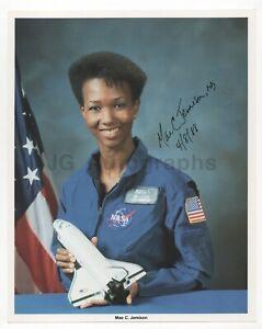 Mae Jemison - First Black Female Astronaut - Signed NASA 8x10 Photograph