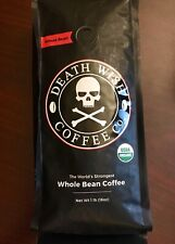 Deathwish Whole Bean Coffee Co 16 Oz Exp 07/2020 New Sealed  Death Wish Organic