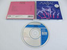 MANIAC Look Out CD 1989 HYPER MEGA RARE OOP SPEED ORIGINAL 1st PRESSING KOCH!!!!