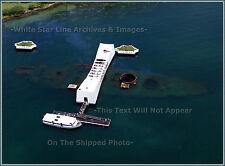 Photo Aerial: Pearl Harbor: The USS Arizona Memorial
