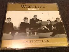 Westlife Tonight RARE CD Single + Poster
