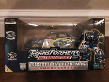 Transformers Alternators Smokescreen Subaru Impreza WRC