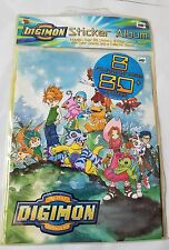 DIGIMON Sticker book packet NEW NIP 2000 anime album