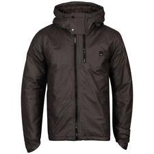 New Bench Men's Genghis Jacket Coat - M - Charcoal