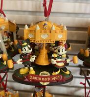 2020 Disney Parks EPCOT World Showcase Germany Mickey & Minnie Ornament New