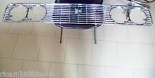 FIAT 124 SPECIAL 4 FARI - GRIGLIA ANTERIORE 4194161  FIAT -CROMADORA