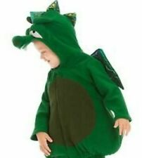 Dragon Halloween Costume Green Padded 12-24 Hoodie Jacket Pants OLD NAVY Outfit