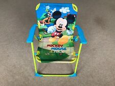 Disney Mickey Mouse & Friends | Childrens Indoor or Garden Folding Chair Age 3-8
