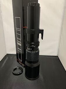 Phoenix 500mm lens With nikon mount