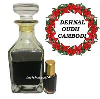 DEHNAL OUDH CAMBODI NEW 3ML BY AL HARAMAIN FAMOUS PERFUME OIL -HIGH QUALITY