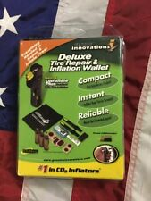 Genuine Innovations Bicycle Deluxe Tire Repair and Inflation Wallet Kit