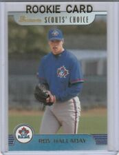 ROY HALLADAY ROOKIE CARD Bowman RC Scout's Choice Toronto Blue Jays Baseball HOF