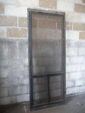 Antique Victorian Style Screen Door - 1895 Three Lite Fir Architectural Salvage