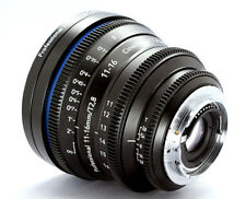 Customized Cine lens Tokina 11-16mm T3.0 Canon EF mount for RED RAVEN BMCC BMPCC