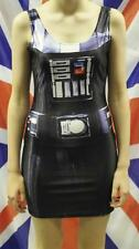 Hot Darth Vader Star Wars Vest Skirts Mini Short Tank Dress Bodycon Bodysuit