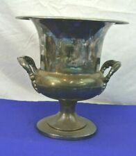 """VINTAGE BRISTOL 11"""" CHAMPAGNE WINE CHILLER ICE BUCKET SILVER PLATED * READ *"""
