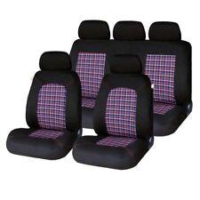 9 Piece Tartan Chequered GTI Look Seat Covers Ford Focus Fiesta Ka Mondeo Kuga