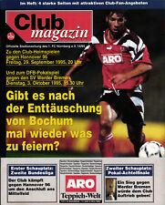 DFB-Pokal 95/96 1. FC Nürnberg - Werder Bremen / Hannover 96 (II. BL)