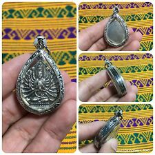 Beautiful Quan Yin Bodhisattva Amulet Pendant Luck Rich Wealth Success Protect