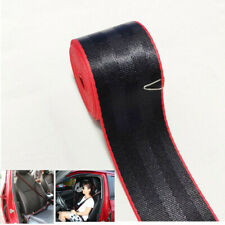 3.6m Car Seat Belt Double Colors Black/Red Racing Auto Universal Safety Strip